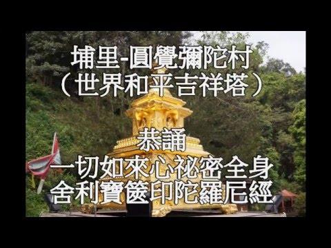一切如來心秘密全身舍利寶篋印陀羅尼-圓覺彌陀村(恭誦)正常版 - YouTube