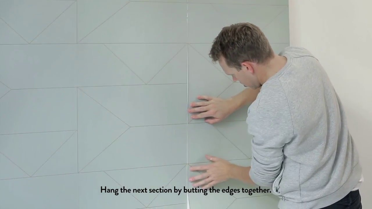 Behang Ferm Living : How to wallpaper by ferm living youtube