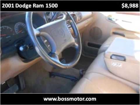 2001 Dodge Ram 1500 Used Cars Eden Nc Youtube
