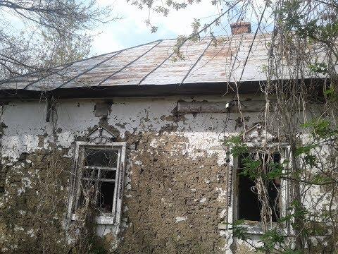Заброшенная деревня с домом на три хозяина.  Что мы в нем нашли