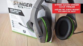 HyperX CloudX Stinger Core Wireless. Análisis del headset exclusivo para Xbox   Gameit ES