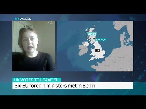 Interview with Christine Bell about Scotland's plan to stay in the EU despite Brexit result