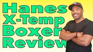 Hanes X Temp Boxer Briefs Review