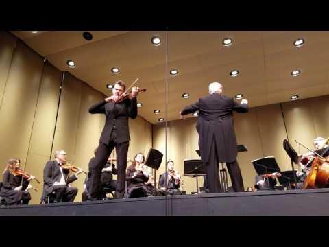 Tchaikovsky Violin Concerto FULL + Encore - Filip Pogady