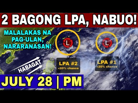 BAHA AT LANDSLIDE, POSIBLE! | WEATHER UPDATE TODAY | WEATHER FORECAST FOR TODAY | HABAGAT UPDATE