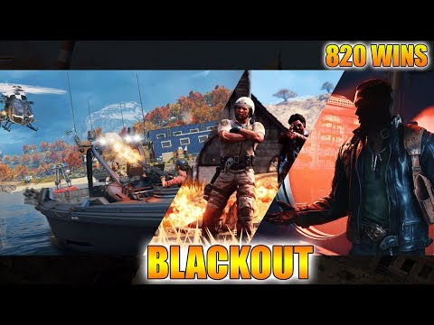 BLACKOUT // SHAMROCK & AWE // 820 WINS! // NEW UPDATE!!! // CoD // PS4