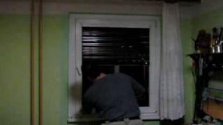 Montáž žaluzie do plastových oken