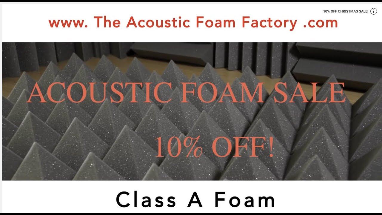 The Acoustic Foam Factory