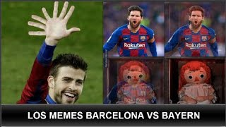 """Los memes de barcelona vs bayern munich champions #barcelona #bayernmunich #memes copyright disclaimer under section 107 of the act 1976 """"copyright..."""