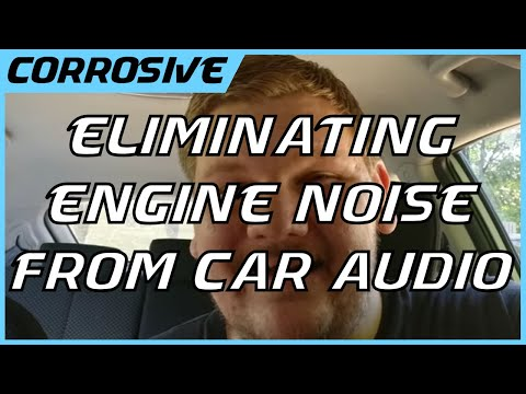 Removing Engine Noise from Your Stereo