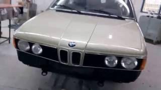 Baixar BMW E23 732IA 1981 minor restoration & respray part3