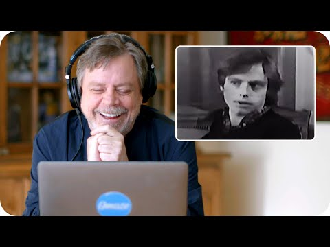 Mark Hamill (Luke Skywalker) Reacts to His Original Star Wars Audition // Omaze