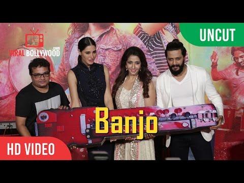 UNCUT - Banjo Trailer Launch | Riteish Deshmukh, Nargis Fakhri, Ravi Jadhav