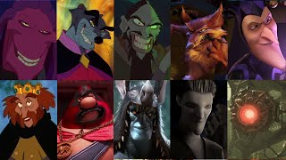 Defeats of My Favorite Non Disney Animated Movie Villains