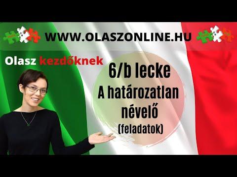 d2f37a2d4 Olasz Online - 6/b lecke: A határozatlan névelő (feladatok)