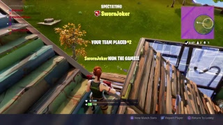 WE LIVE  FORTNITE TRYING TO GET A WIN GAME PLAY PS4 ]