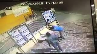 Qualiano, distruggono panchina: ripresi da telecamere