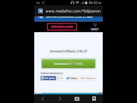 Descargar Geometry Dash  2.0 Android Mediafire