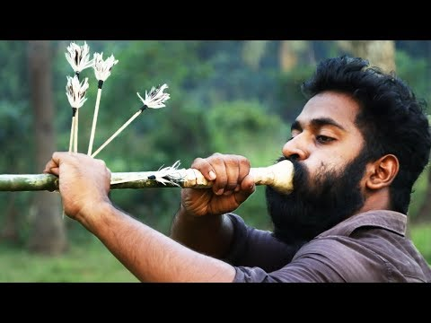 Traditional Blower Arrow Making | ഊത്തുളി വിദ്യ പഠിക്കണോ | M4 Tech |