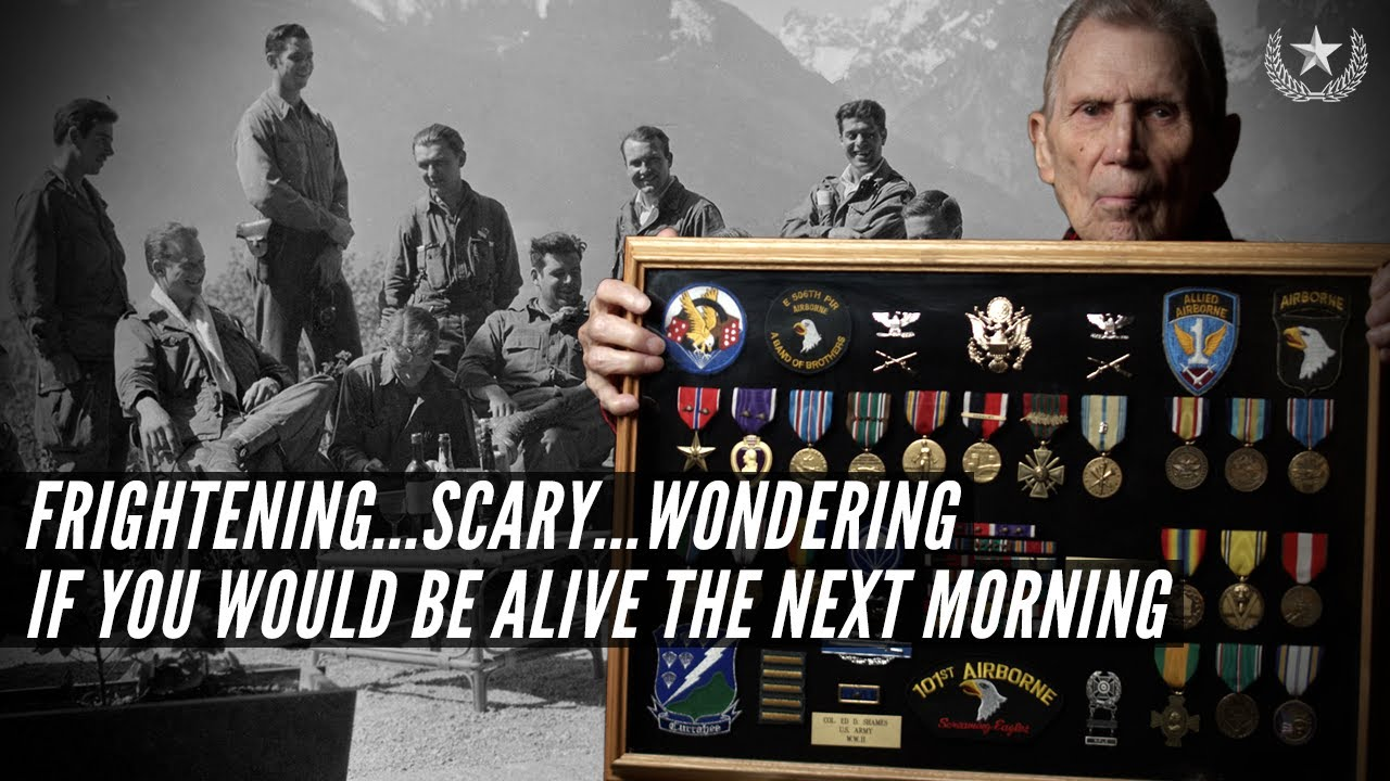 Easy Company Veteran Edward Shames describes combat with the 101st from D-Day to the Eagle's Nest