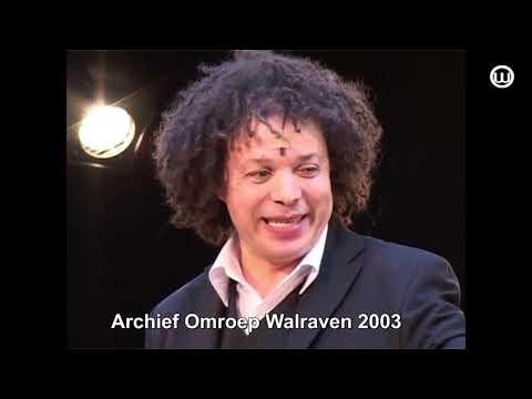 210202 Gevonden op onze Zolder Hakim uit Sesamstraat bij opening Ravengaarde 2003