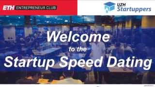 Startup Speed Dating April 2014