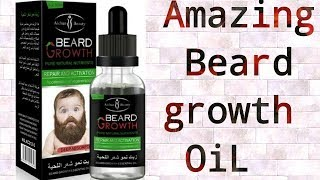 Amzing Beard growth oil