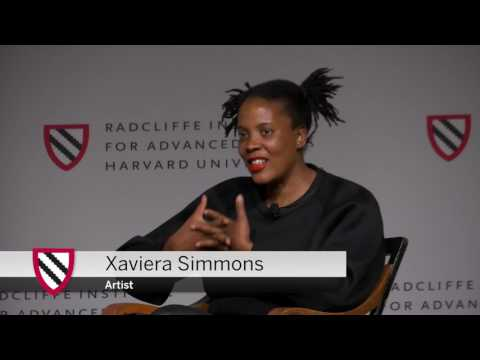 Xaviera Simmons | Overlay Exhibition: Opening Discussion || Radcliffe Institute