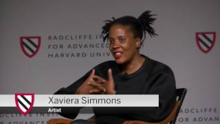 Xaviera Simmons   Overlay Exhibition: Opening Discussion    Radcliffe Institute thumbnail