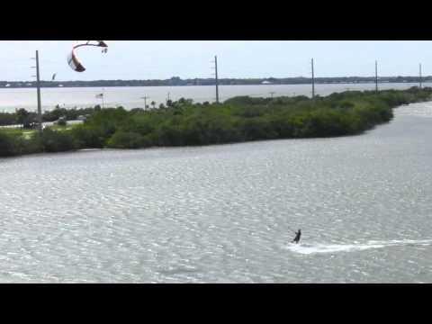 Cocoa Beach Kiteboarding At The 520 Anti Slick