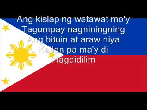 Hymne national des Philippines