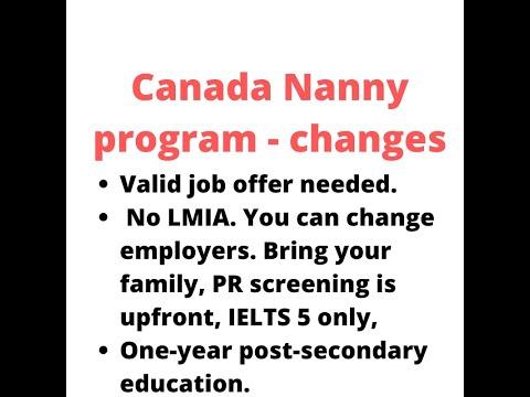 Easy - Canada Nanny Program