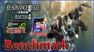 RESONANCE OF FATE END OF ETERNITY 4K HD EDITION PC Benchmark