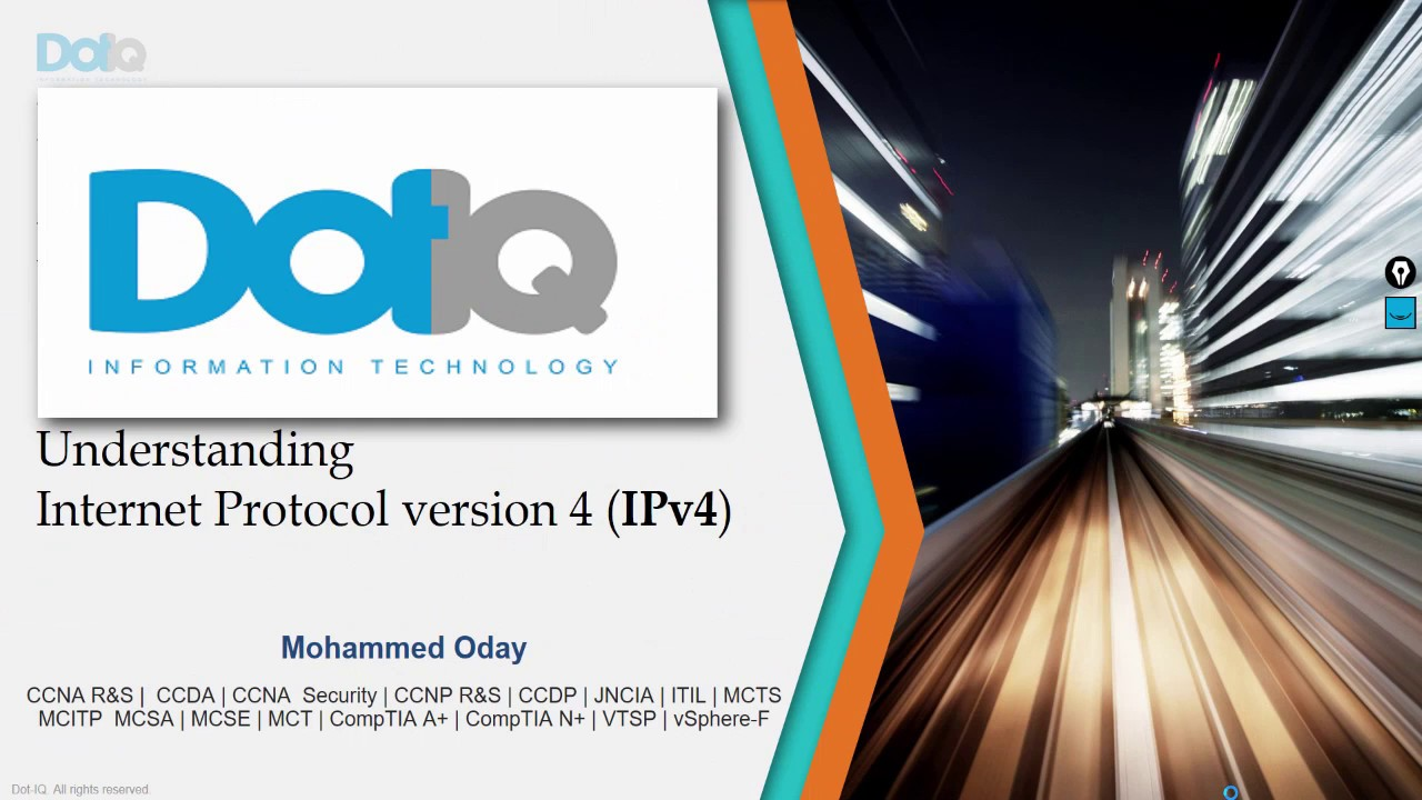02-Internet Protocol version 4 (IPv4) By Eng-Mohammed Oday ...
