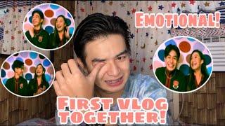 REACTION VIDEO SA AMING FIRST VLOG NI BABE!!  (Naiyak ako!) | Roi Oriondo