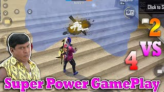 Free Fire 🔥1 VS 2🔥 My Ultra Best Clash Squad Gameplay Match Tricks Tamil |  Gaming Tamizhan