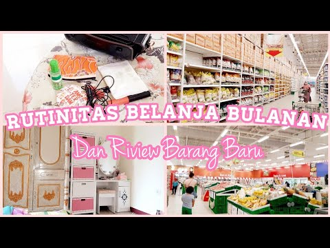 BELANJA RUTIN BULANAN DAN RIVIEW BARANG BARU from YouTube · Duration:  6 minutes 50 seconds