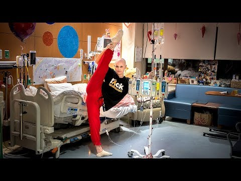 EMOTIONAL PHOTOSHOOT FOR DANCER WITH CANCER