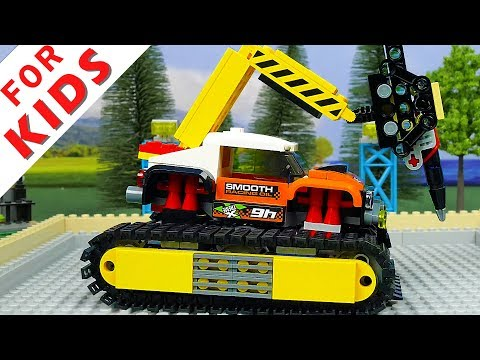 LEGO Experemental Cars and Lego Garage for building Police car Ambulance car and Truck