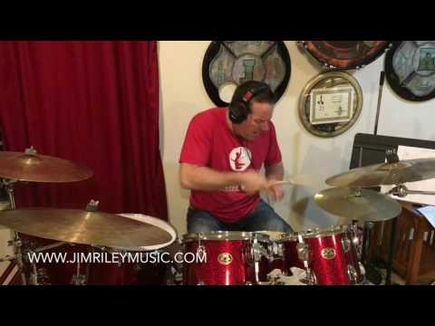 32nd note drum fill lesson from Jim Riley