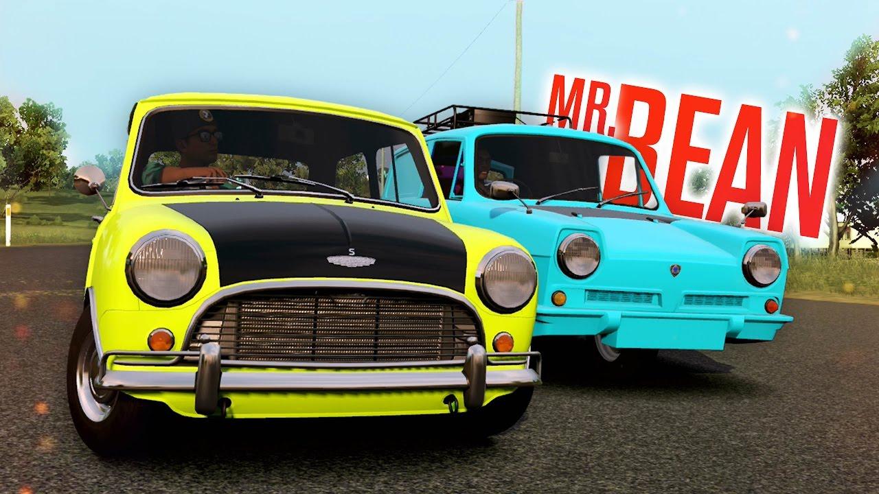 Mr Bean Car Racing