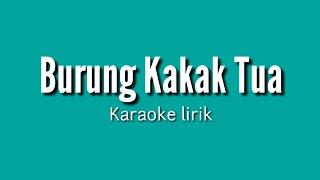 Burung kakak tua - lirik karaoke no vocal