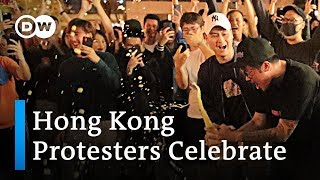 Hong Kong election: Sweeping victory for pro-democracy camp | DW News