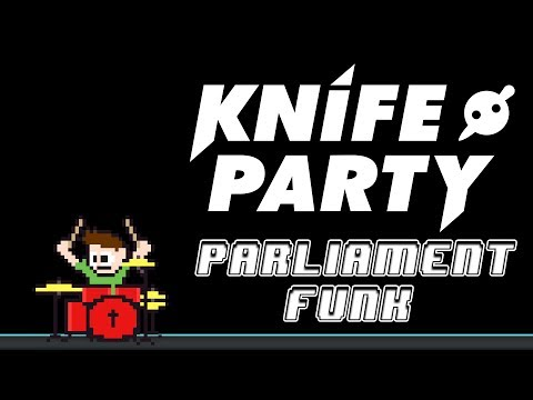 Knife Party - Parliament Funk (Blind Drum Cover) -- The8BitDrummer