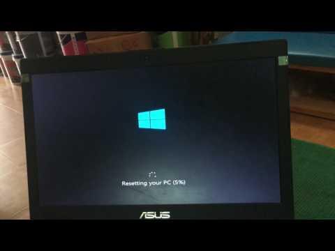 Reset your PC // Recovery windows 8 về trạng thái nhà sản xuất // recovery for windows 8.