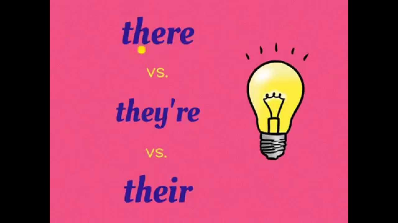 worksheet Their They Re There Worksheet there vs theyre their homophone game ep 1 youtube