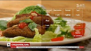 Овочеві котлети з баклажаном - рецепти Насирова