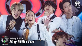 Download Halsey & BTS - Boy With Luv (Live At iHeartRadio Jingle Ball 2019)