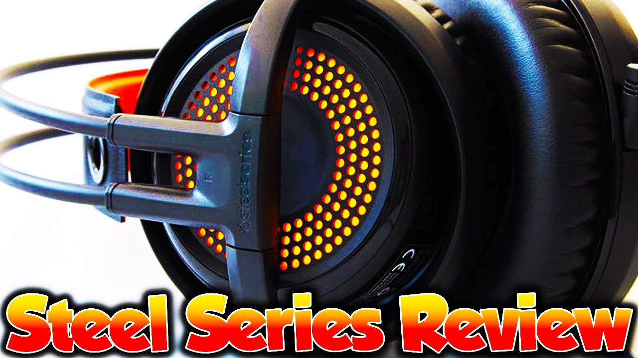 Siberia 350 Steel Series Chroma Illumination Gaming Headset Review Steelseries Black Youtube