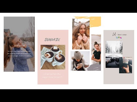 5 FREE Apps For Aesthetic Instagram Stories !! (vintage, Minimal & Trendy)